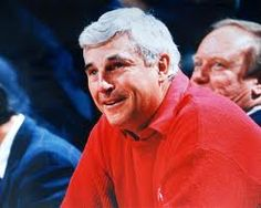 Bob Knight, I would give anything to meet this man. :)