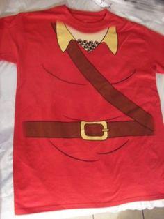 Beauty-And-The-Beast-Hunter-Gaston-Cosplay-Costume-T-Shirt-Tee-Disney
