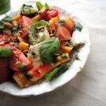 Recept: Nectarinesalade