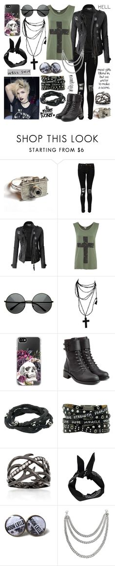 """""""Ladies And Gentleman, Truth Is Now Acceptable, Fame Is Now Injectable, Process The Progress"""" by a-mashup-of-band-names ❤ liked on Polyvore featuring Boohoo, Doublju, Casetify, Philosophy di Lorenzo Serafini, King Baby Studio, Ross-Simons and George"""
