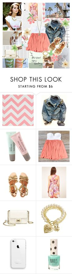 """""""Can you even feel it, too? ♥"""" by angelechantelle ❤ liked on Polyvore featuring Laura Mercier, Lanvin, ASOS, Prada, Forever 21, red flower, Again, Juicy Couture and Mischa Barton Handbags"""
