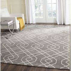 Safavieh's Amherst collection is inspired by timeless vintage designs crafted with the softest polypropylene available.