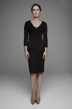 AW12-10004 Size 10, Formal Dresses, Sleeves, Model, Cotton, How To Wear, Black, Fashion, Dresses For Formal