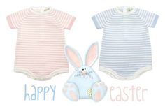 """happy easter"" by tuaptstore on Polyvore featuring BabyGirl and babyboy"