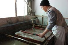 職人、和紙職人/Japanese craftsman