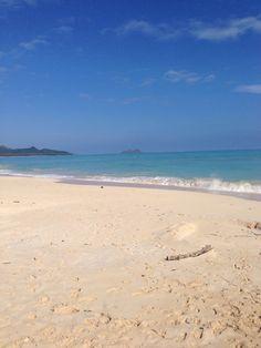Beautiful Sherwoods Beach in Waimanalo, HI. Only a few minutes away from my work at www.tikimaster.com! Aloha