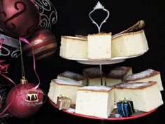 Sernik waniliowy bez spodu Cheesecake, Food, Cheesecakes, Essen, Meals, Yemek, Cherry Cheesecake Shooters, Eten