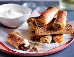 Türkische Fleischröllchen Rezept