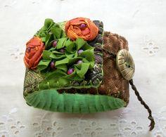 fabric floral cuff