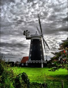 The Windmill at Burnham Overy Staithe, Norfolk, England