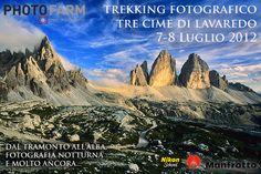 Workshop & Trekking fotografico alle Tre Cime di Lavaredo (Drei Zinnen) - 7-8 Luglio 2012.