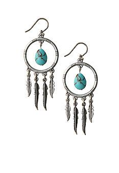 Large Beaded Dream Catcher Earrings Pattern at Sova