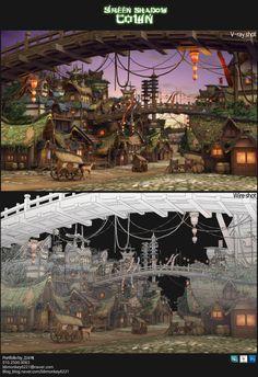 pinterest.com/bohyekim9085/ | town_ copy 3D image