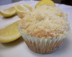 The Big Green Bowl: Lemon Crumb Muffins