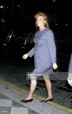 Sarah Ferguson Duchess of York on Feburary 11, 1990