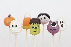Cake pops personalizados para sua festa de halloween, as crianças vão ADORAR!  * Pedido mínimo 20 unidades! R$2,60