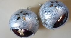 Baubles with stars 3,14""