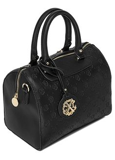 It s not hard to imagine all the outfits you can pair this classy black  Vendome Satchel with. 9c424cc5ee592