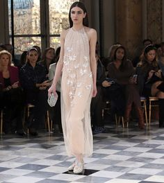 Nude sensation of couture creation...#GEORGESHOBEIKA Couture #SS16. #parisfashionweek #pfw #hautecouture #Couture #paris #monnaiedeparis