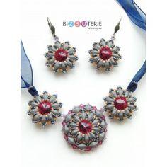 Sophie set - inst.dl. beading pattern Beading Patterns, Crochet Earrings, Beads, Handmade, Jewelry, Beading, Bead Patterns, Hand Made, Jewlery