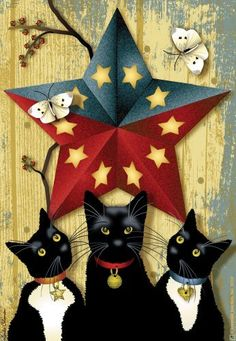 Jeremiah Junction Garden Flags, Barn Star Cats by Jeremiah Junction. $9.99. Hardware is not included. Warm and welcoming flags to add fun and color to gardens; flower beds; or anywhere in your home. Flags measure 18 by 12-inch. Design: Born Star Cats. Made of high quality tightly woven synthetic fiber that is weather-fast; light-fast and can simply be sprayed off with the hose when soiled. Warm and welcoming flags to add fun and color to gardens; flower beds; or anywhere in you...