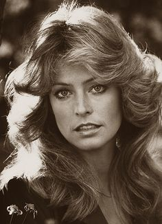 Farrah Fawcett: 1976- the Hair that Every girl dreamed of!