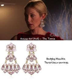 From the Valley to the Upper East Side: Lily Van der Woodsen's Style Cross-Over – The Townie) Cute Earrings, Unique Earrings, Boho Earrings, Chandelier Earrings, Vintage Earrings, Emerald Jewelry, Rose Gold Jewelry, Estilo Gossip Girl, New York Socialites