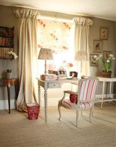 Ivy Clad: Perfect English z  Waverly Norfolk Rose z