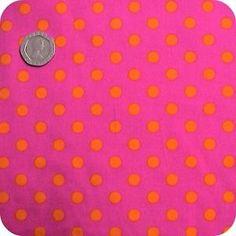 Polka-Dot-Fabric-FAT-QUARTER-Approx-7mm-Spots-100-Cotton-Spotty-Shabby-Chic