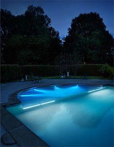 viking pools of redding swimming pool lighting from viking pools