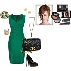 Mad Men Style...gorgeous dress!