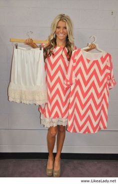 Skirt Extenders -- My saving grace! Every girl should have at least one of these!! slip under too short dresses