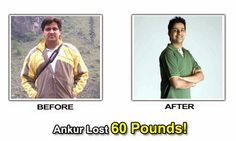 Ankur's Success Story : After Nine Months I Lost About 28 Kgs Of Weight !