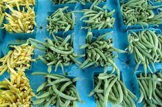 Egész nyáron szakaszosan vethető a zöldbab Green Beans, Vegetables, Vegetable Recipes, Veggies