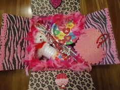 Valentines Care Package for our soldier, our son