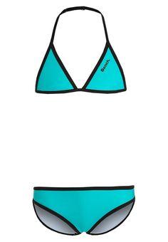 Bikinis Bench Bikini - turquoise/black turquoise: 25,00 € chez Zalando (au 18/05/16). Livraison et retours gratuits et service client gratuit au 0800 740 357.