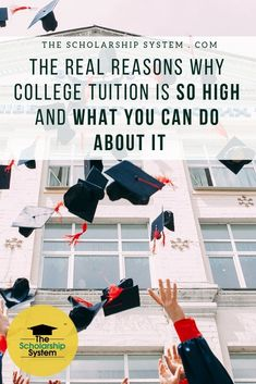 College costs are skyrocketing and it only seems to be getting worse. Here are the real reasons college tuition is rising and what can be done about it. College Mom, College Costs, College Majors, Financial Aid For College, Saving For College, College Admission, Scholarships For College, Education College, Student Loan Repayment