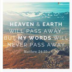 Matthew 24:35