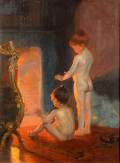 Paul Peel (1860-1892), After the Bath
