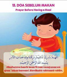 Duaa before you eat