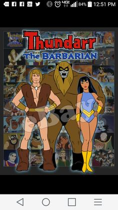 Thundarr the babarian Famous Cartoons, Old Cartoons, Classic Cartoons, Animated Cartoons, Cartoon Posters, Cartoon Tv, Desenhos Hanna Barbera, Superhero Characters, Saturday Morning Cartoons