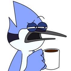 Was that suppose to be funny? by on DeviantArt Cartoon Icons, Cartoon Memes, Cartoon Art, Cute Cartoon, Cartoons, Rigby Regular Show, Mordecai Y Rigby, Desenhos Cartoon Network, Disney Canvas Art