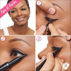 They're real! push-up liner's AccuFlex™ tip makes it easy to line any eye shape. Top tip: hold the liner like a pen and rest your pinky on your cheekbone for added stability. #benefitbeauty