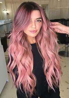 Ladystar Lace Front Wigs Middle Part Long Ombre Natural Wavy Party Wig