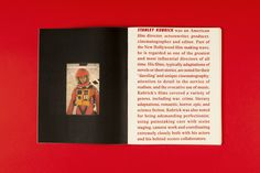 Stanley Kubrick Monograph on Behance