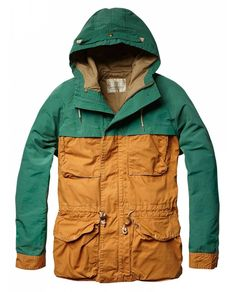 Outdoor mountaineering jacket with hood - Jackets - Official Scotch & Soda Online Fashion & Apparel Shops #hikingstyle