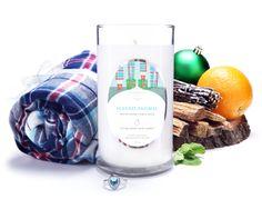 Flannel Pajamas - Jewel Candle