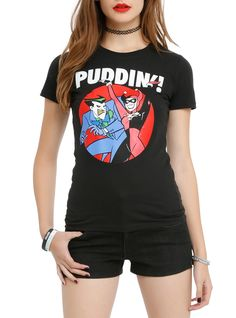 Batman: The Animated Series The Joker & Harley Puddin Girls T-Shirt 3XL | Hot Topic