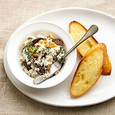 This spread recipe is the perfect make-ahead appetizer especially when entertaining for Christmas. Sprinkle toasted walnuts over spread before serving with baguette slices or crackers.
