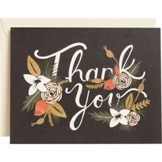 Breanne Thank You Card // Rifle Paper Company via Paper Source
